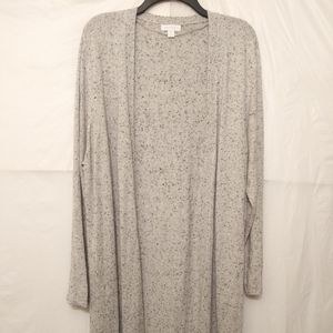 Charter Club Open Front Cardigan Duster